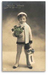 Tous nos voeux pour la nouvelle année !  dans La Poste bonan1912aa-197x300