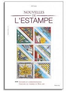 La dernière livraison des Nouvelles de l'Estampe... dans L'Adresse Musée de La Poste nvellesEstampe-215x300